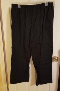❤️ Black SB scrubs pants 2x